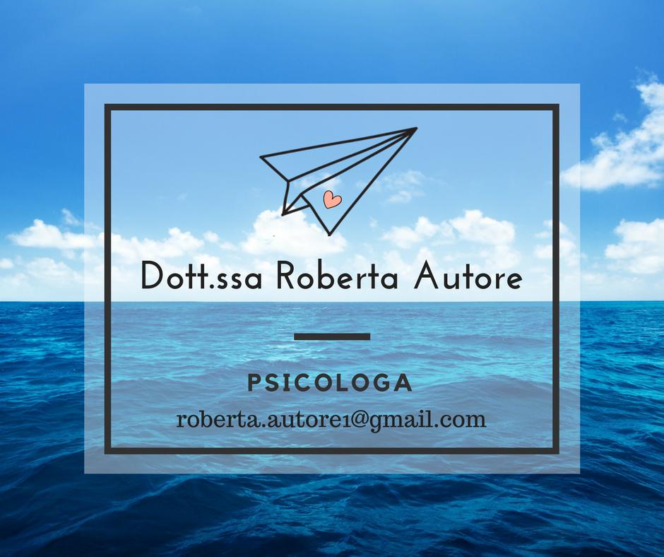 Roberta Autore psicologa