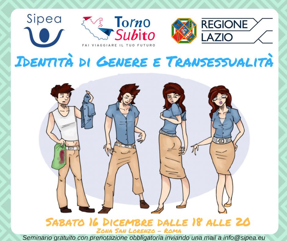 Seminario Identità di genere e Transessualità