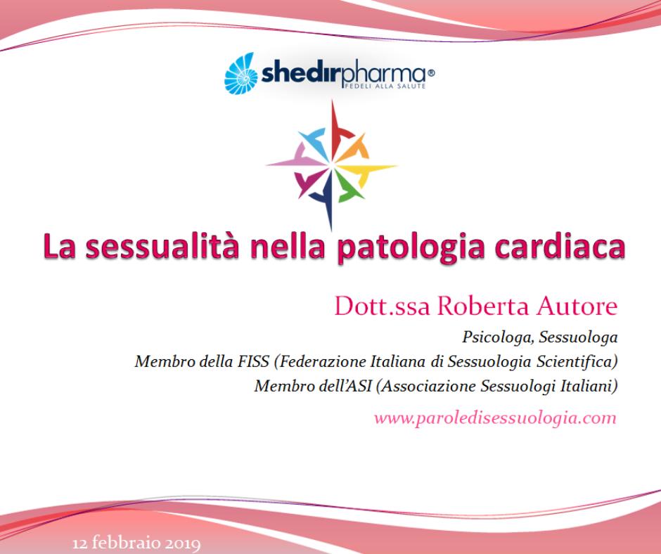 Le linee guida per il sesso nella patologia cardiaca